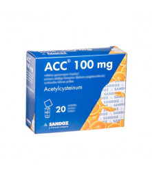 ACC 100 mg Powder Sachets, N20
