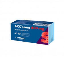 ACC Long 600 mg Effervescent Tablets, N10