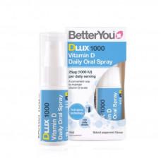 BetterYou Dlux 1000 Vitamin D Oral Spray 15ml